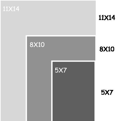 8x10 photo vs 11x14 photo